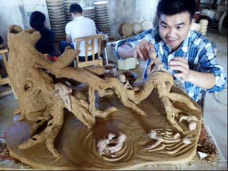 伍麒麟陶瓷作品
