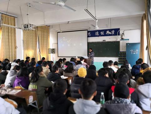 省教育厅党组成员、省委教育工委委员徐伟来我校开展听课调研活动