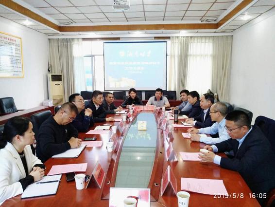 党委书记李三福带队到郴州考察交流