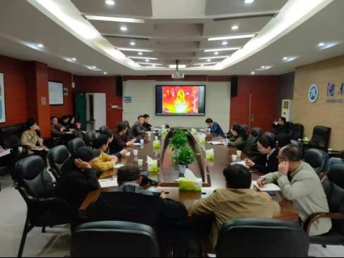 机关第一党总支开展党史宣讲活动