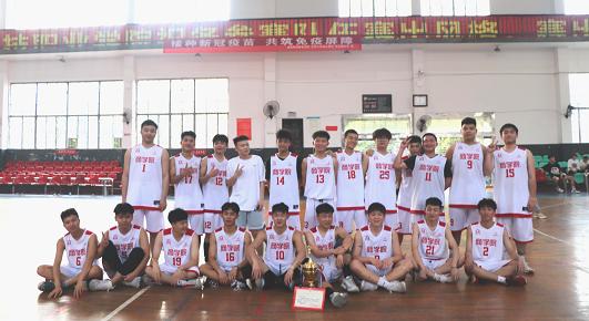 商学院在科院篮球赛中卫冕冠军