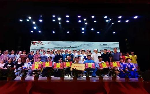 我校举办第二届中华经典诗文诵读比赛